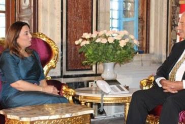 رئيس مجلس نواب الشعب يستقبل رئيسة الاتحاد التونسي للصناعة والتجارة والصناعات التقليدية