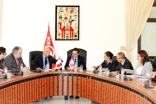 وزير التنمية والإسثمار والتعاون الدولي يلتقي بمستشاري التجارة الخارجية الفرنسية (CCEF)