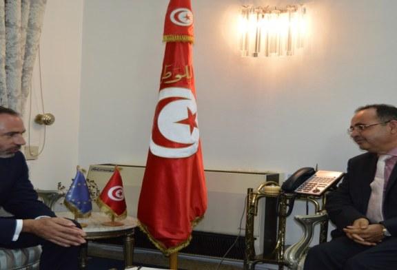كرشيد يلتقي سفير الاتحاد الاوروبي بتونس