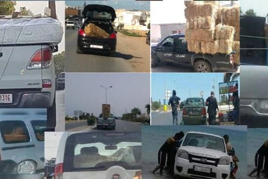 حملة مراقبة السيارات الإدارية مستمرّة : تسجيل نسبة مخالفات في حدود  7% خلال أربعة أيام