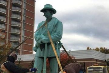 الولايات المتحدة الأمريكية : إزالت رمز العبودية بعد 121 سنة من تنصيبه