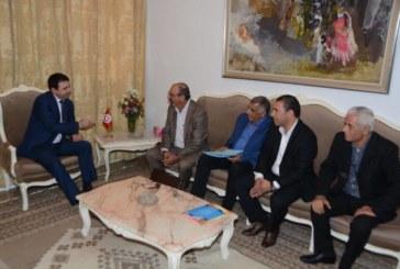 وزير الداخلية يلتقي رئيس الهيئة الجديدة للرابطة التونسية للدفاع عن حقوق الإنسان
