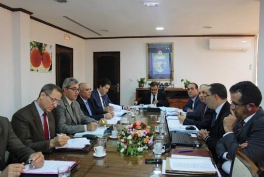 وزارة الفلاحة :إنعقاد جلسة عمل حول مشروع ميزانية التنمية لسنة 2017