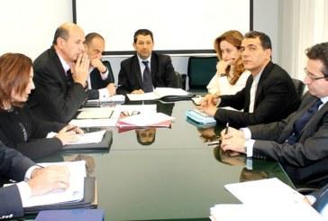 وزير التنمية والاستثمار والتعاون الدولي يجتمع برئيسة منظمة الأعراف