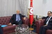 مبروك كرشيد يلتقي السفير الفرنسي: تعاون مرتقب في مشروع الخارطة الرقمية وتكوين الخبراء