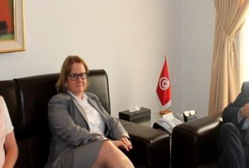 البنك الأوروبي لإعادة الإعمار والتنمية (BERD)  يؤكد إستعداده لمواصلة دعم تونس