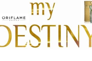 Oriflame Tunisie تقدّم لأول مرّة في العالم، عطرها الجديد My Destiny