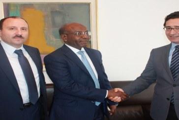 محمد الفاضل عبد الكافي يبحث مع وزير الاستثمار الجيبوتي فرص تعزيز التعاون الاقتصادي والشراكة