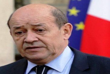 وزير أوروبا والشؤون الخارجية الفرنسيّة  جون إيف لودريان في زيارة عمل إلى تونس يوم غرة جوان 2017