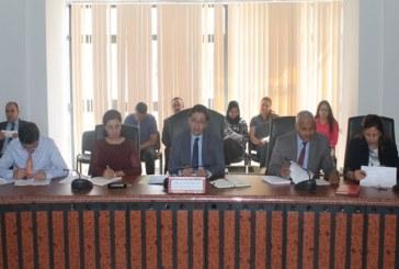 محمد الفاضل عبد الكافي ومحمد الصالح العرفاوي يتابعان سير عدد من المشاريع العمومية