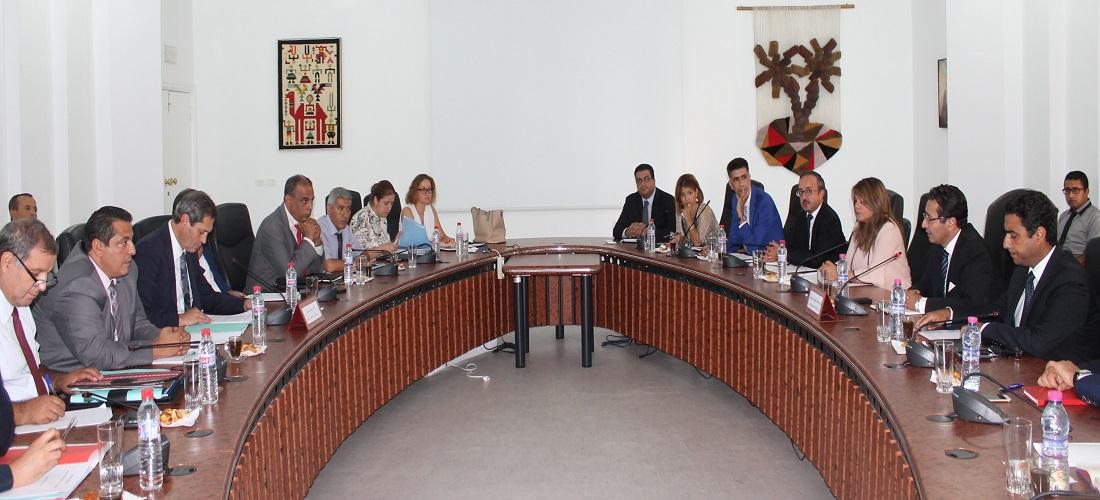 اجتماع مشترك بين وزير التنمية والتعاون الدولي ووزير الشؤون المحلية والبيئة: تمويل المشاريع البيئية