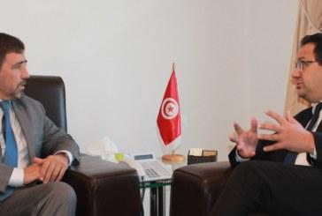 زياد العذاري خلال لقاءه بالمنسق المقيم لمنظمة الأمم المتحدة : تونس ملتزمة بتنفيذ أهداف التنمية المستدامة من خلال المخطط الخماسي