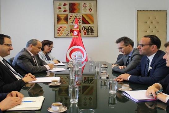 زياد العذاري يستقبل بعثة صندوق النقد الدولي إلى تونس