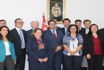زياد العذاري يلتقي بأعضاء من مجلس إدارة البنك الأوروبي للإعمار والتنمية (BERD)
