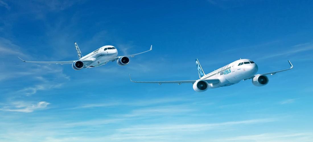 إيرباص و بومباردييه يعلنان عن شراكة لبرنامج الطائرات متوسطة المدى من فئة C