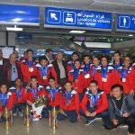 74 مدالية من نصيب تونس في البطولة العربية للسباحة الناشئة بمصر