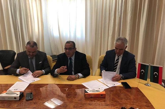 سمير ماجول في طرابلس اتفاق شراكة بين اتحادي الاعراف التونسي والليبي من اجل دفع نسق التصدير والاستثمار