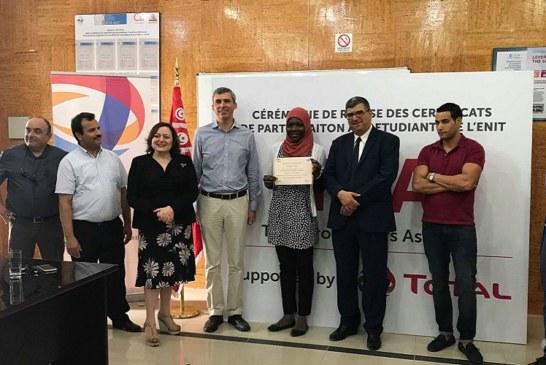 طوطال تونس- المدرسة الوطنية للمهندسية بتونس : تسليم شهائد المشاركة في الدورة التكوينية TPA