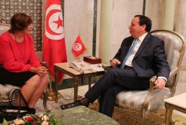وزير الخارجية يستقبل سفيرة كندا بتونس