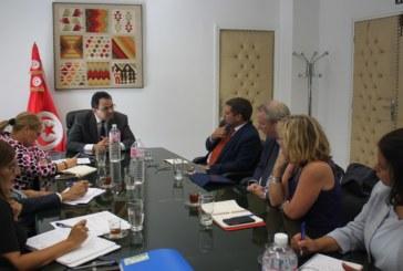 إطلاق برنامج خصوصي عاجل لدعم المناطق المنكوبة بولاية نابل في إطار التعاون الدولي محور جلسة عمل بين زياد العذاري و عدد من الشركاء الدوليين