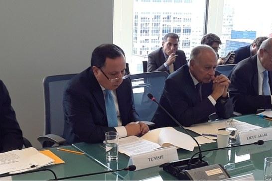 الدورة 73 للجمعية العامة للأمم المتحدة : وزير الخارجية يشارك في عدد من الفعاليات ويجري سلسلة لقاءات مع عدد من نظرائه المشاركين في الدورة