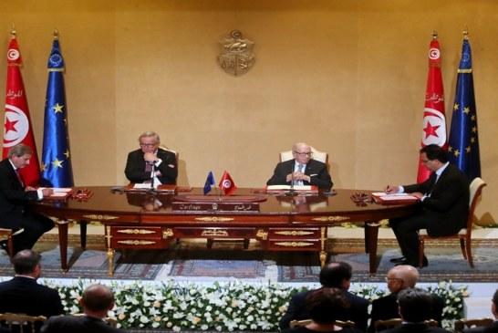 التوقيع على أربعة اتفاقيات مالية في شكل هبات بقيمة 270 مليون أورو أي ما يناهز 900 مليون دينار بين تونس والمفوضية الأوروبية