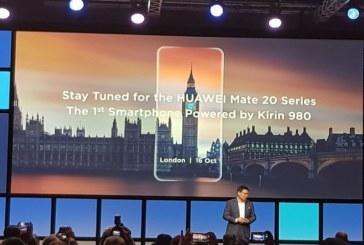إطلاق سلسلة Huawei Mate 20 في دبي