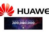 هواوي، أكثر من 200 مليون هاتف ذكي من المتوقع شحنها في جميع أنحاء العالم قبل 25 ديسمبر 2018