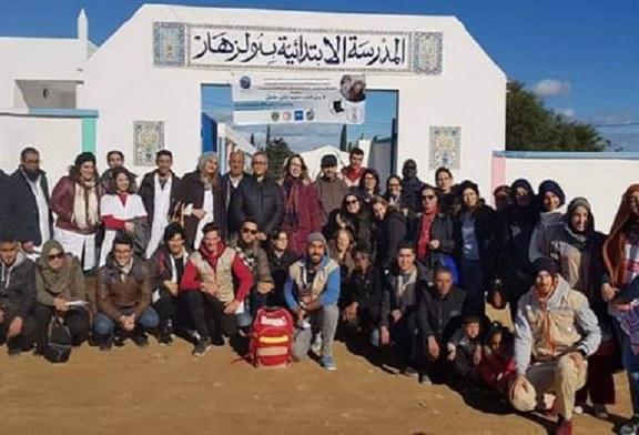 تظاهرة من أجل قلب سليم تصل إلى منطقة قربة و استفادة 150 طفلا بكشوفات مجانية