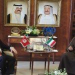 وزير الشؤون الخارجية يبحث مع نظيره  الكويتي سبل دعم علاقات التعاون بين البلدين