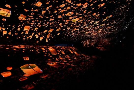 """عرض """" LG OLED FALLS """" بمعرض مدينة """" لاس فيغاس """" يفوق كل التوقعات"""