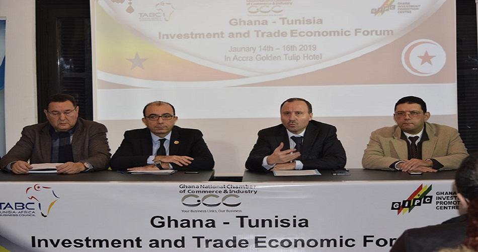 من 14 إلى 17 جانفي 2019 : مهمّة تونسية  استكشافية متعددة القطاعات في غانا