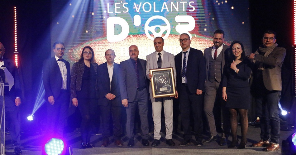 في سهرة Les Volants d'Or : جوائز ومكافآت لأفضل العلامات في قطاع السيارات