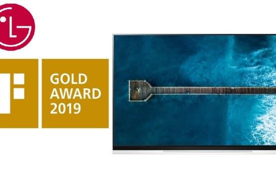 """"""" إل جي إلكترونيكس """" تحصد ذهبية معرض iF Design للتصميم عن تلفاز OLED E9"""