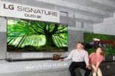 """الجي تقدم اثنين من ابتكاراتها الرئيسية ممثّلين في تلفزيون """" 8K Nanocell """""""