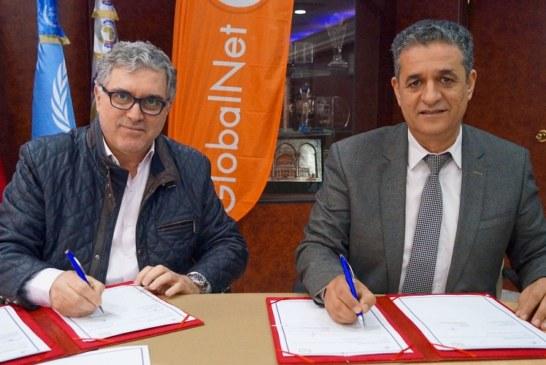إمضاء اتفاقية شراكة بين البريد التونسي وقلوبال نات لتسهيل النفاذ إلى خدمات الأنترنات بمختلف جهات البلاد