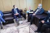 علي الكعلي وسفير بلجيكا بتونس يؤكدان على توفر الفرص لمزيد تطوير التعاون الثنائي